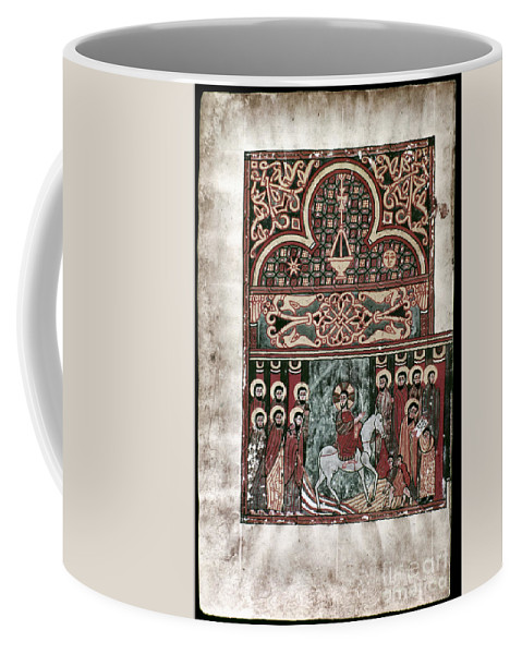 1420 Coffee Mug featuring the photograph Entry Into Jerusalem by Granger