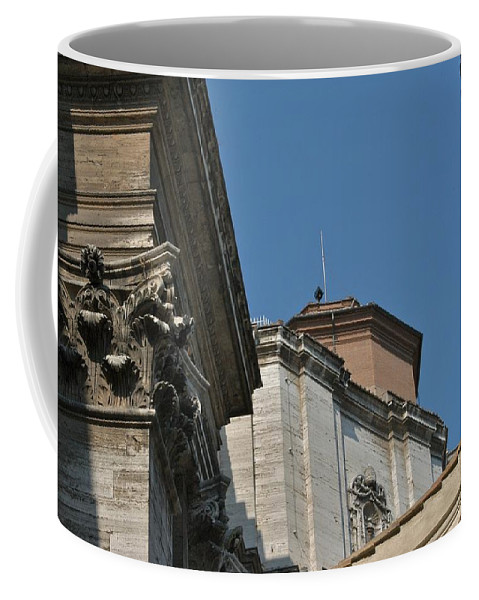 Italy Coffee Mug featuring the photograph Exit by Joseph Yarbrough