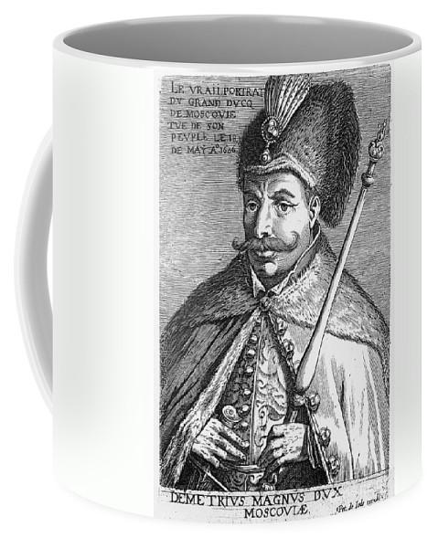 1605 Coffee Mug featuring the photograph False Dmitry I (1581-1606) by Granger