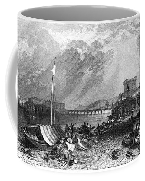 1835 Coffee Mug featuring the photograph France: Saumur by Granger