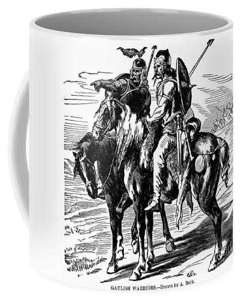 1st Century B.c Coffee Mug featuring the photograph Gaulish Warriors by Granger