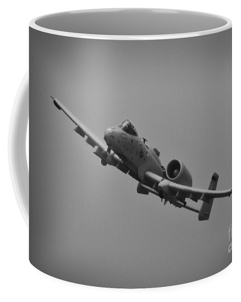 Republic A-10 Thunderbolt Ii Coffee Mug featuring the photograph Gotta Love Ugly by Tommy Anderson