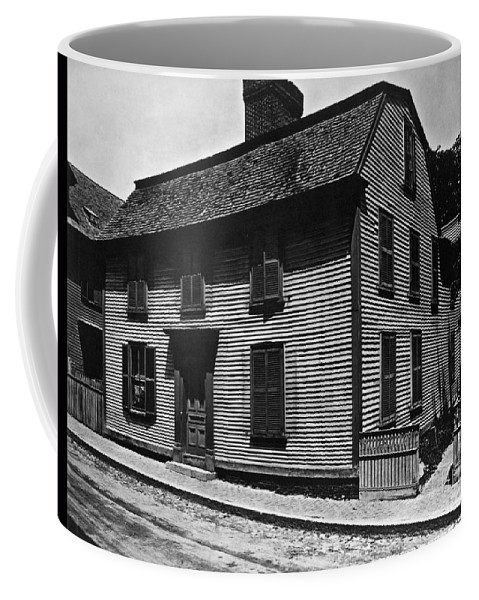 1804 Coffee Mug featuring the photograph Hawthornes Birthplace by Granger