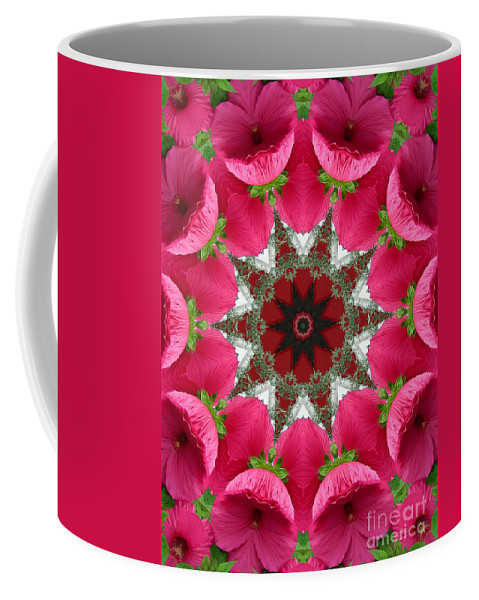 Digital Design Coffee Mug featuring the photograph Hibiscus by Mark Gilman