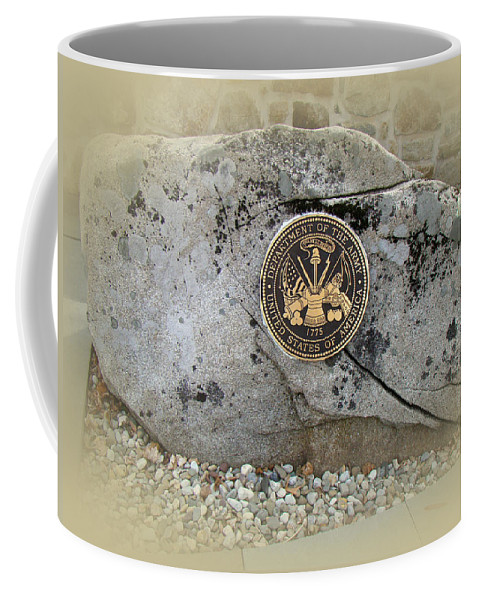Military Coffee Mug featuring the photograph Honoring The Us Military Services - Army by Mother Nature