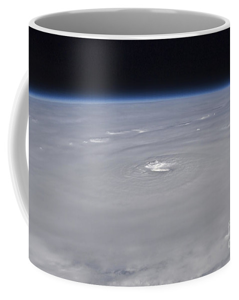 Cloud Coffee Mug featuring the photograph Hurricane Earl by Stocktrek Images