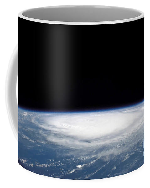 Color Image Coffee Mug featuring the photograph Hurricane Frances by Stocktrek Images