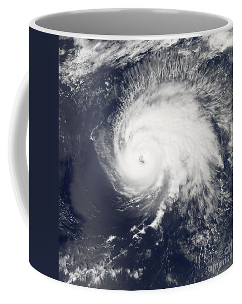 Square Image Coffee Mug featuring the photograph Hurricane Gordon by Stocktrek Images