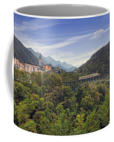 Intragna Coffee Mug featuring the photograph Intragna - Ticino by Joana Kruse