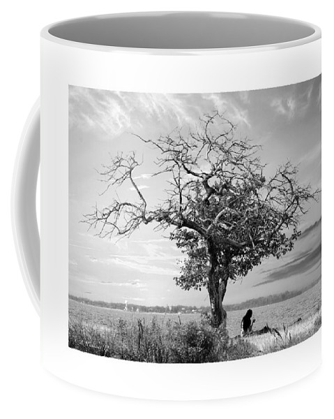 2d Coffee Mug featuring the photograph Introspective by Brian Wallace