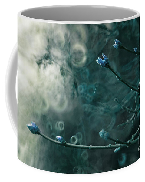 Spring Coffee Mug featuring the photograph Lilac Tree by Angel Ciesniarska