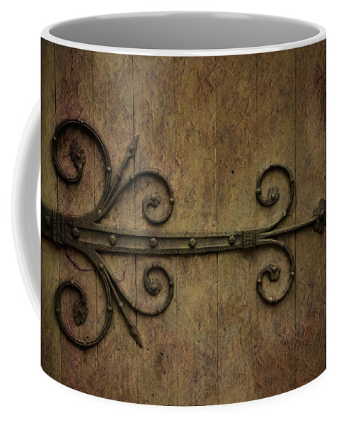 Hinge Coffee Mug featuring the photograph Mediterrarean by Trish Tritz