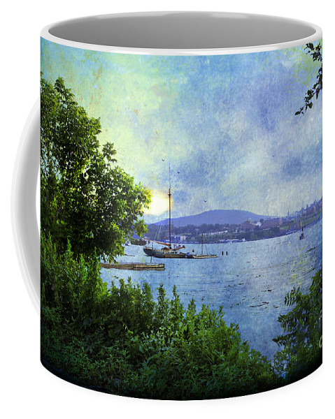Seascape Coffee Mug featuring the photograph Memories by Madeline Ellis