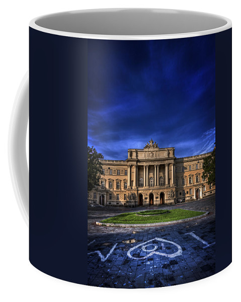 Indigo Coffee Mug featuring the photograph Mood Indigo 1 by Evelina Kremsdorf