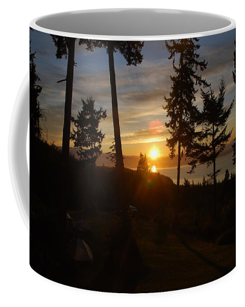 Morning Coffee Mug featuring the photograph Morning Sky by Michael Merry