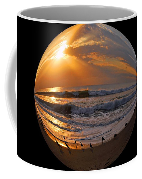Beach Coffee Mug featuring the photograph My World by Lynn Bauer