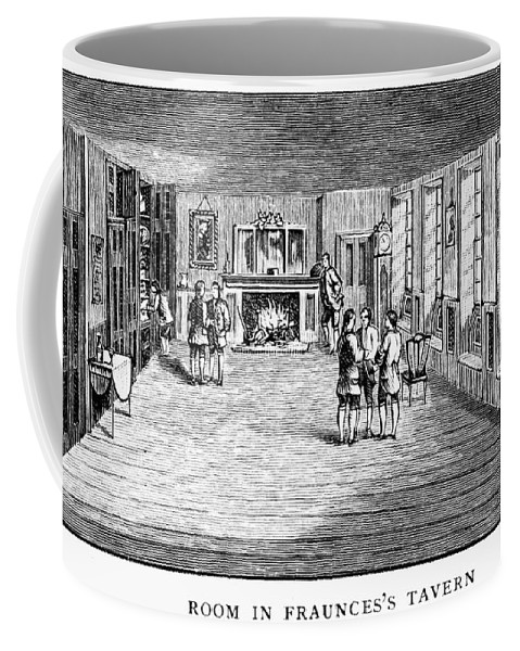 1888 Coffee Mug featuring the photograph New York: Fraunces Tavern by Granger