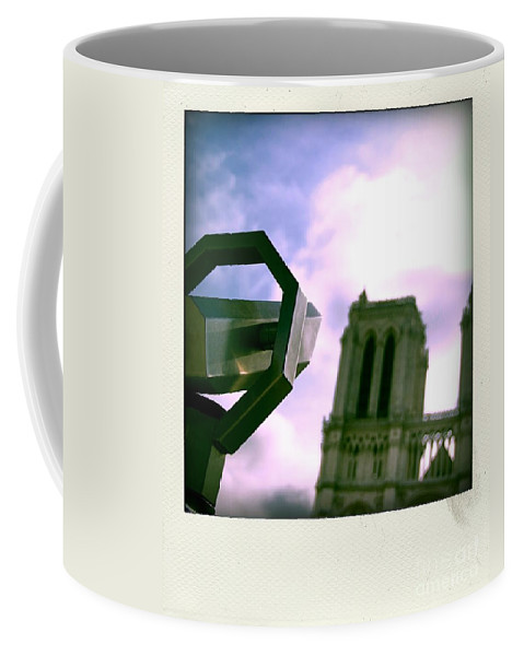 Paris Coffee Mug featuring the photograph Notre Dame De Paris. France by Bernard Jaubert