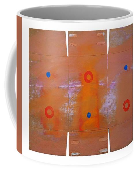 Native Coffee Mug featuring the painting Rain Dance by Charles Stuart