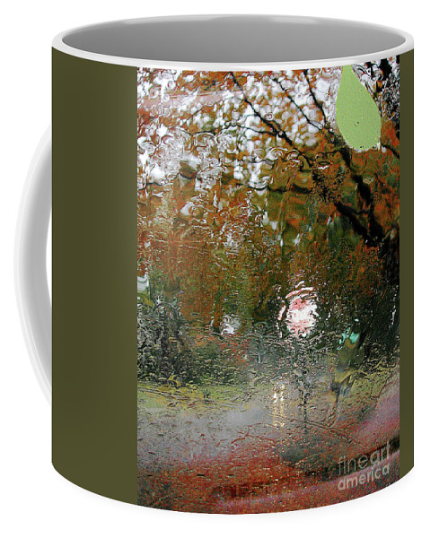 Rain Coffee Mug featuring the photograph Rain by Lizi Beard-Ward