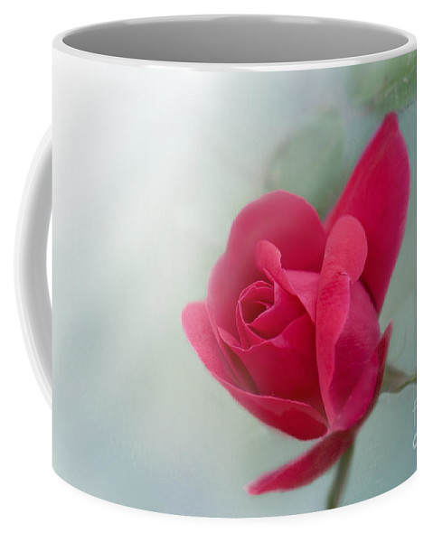 Rose Coffee Mug featuring the photograph Red Rose by Betty LaRue