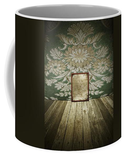 Aged Coffee Mug featuring the photograph Retro Room Interior by Setsiri Silapasuwanchai