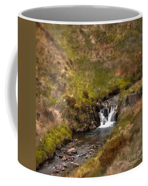 Coffee Mug featuring the photograph River Wye by Angel Ciesniarska
