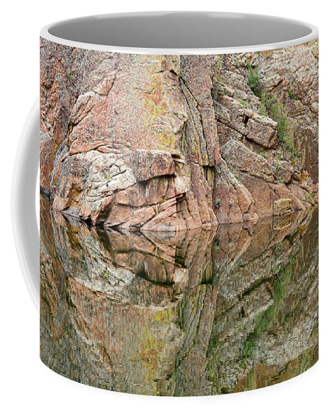 Rocky Mountains' Coffee Mug featuring the photograph Rocky Mountain Reflections by James BO Insogna