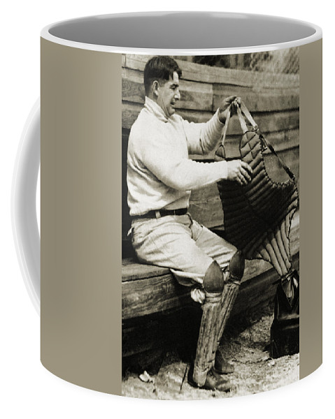 20th Century Coffee Mug featuring the photograph Roger Bresnahan (1879-1944) by Granger