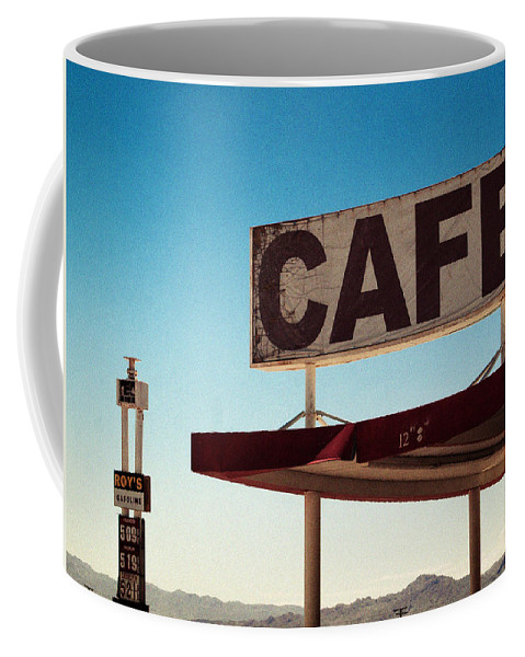 Aurica Voss Coffee Mug featuring the photograph Roy's Cafe by Aurica Voss