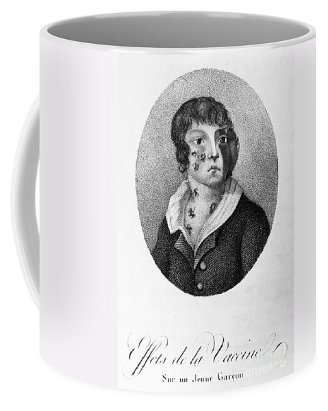 1807 Coffee Mug featuring the photograph Smallpox Vaccination, 1807 by Granger