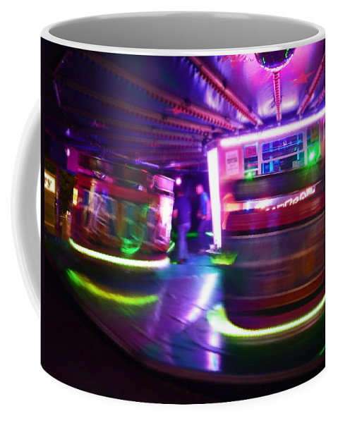 Waltzer Coffee Mug featuring the photograph Spin by Charles Stuart