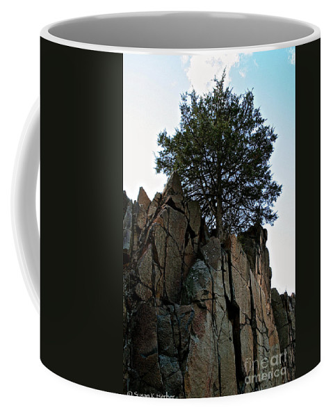 Landscape Coffee Mug featuring the photograph Stand Tall by Susan Herber