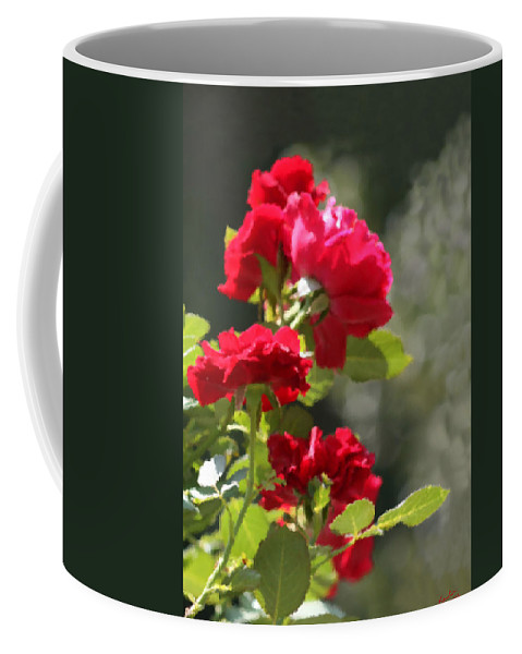 Roses Coffee Mug featuring the photograph Summer's Bloom by Kristin Elmquist