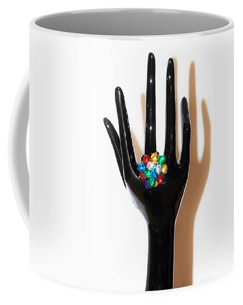 Hand Coffee Mug featuring the photograph The Arm And Hand by Rob Hans