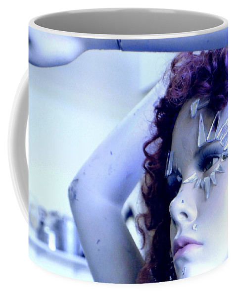 Woman Coffee Mug featuring the photograph The Girl by Marysue Ryan