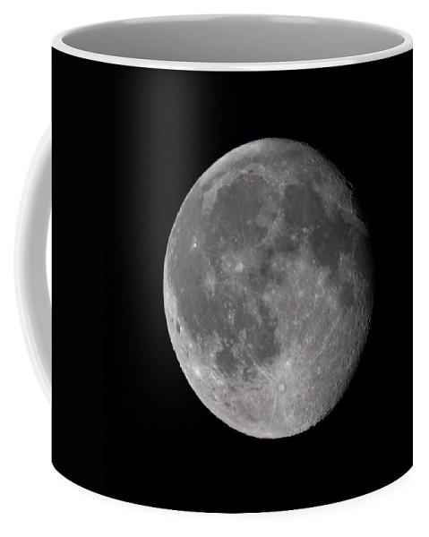 Lehtokukka Coffee Mug featuring the photograph The Old Moon by Jouko Lehto