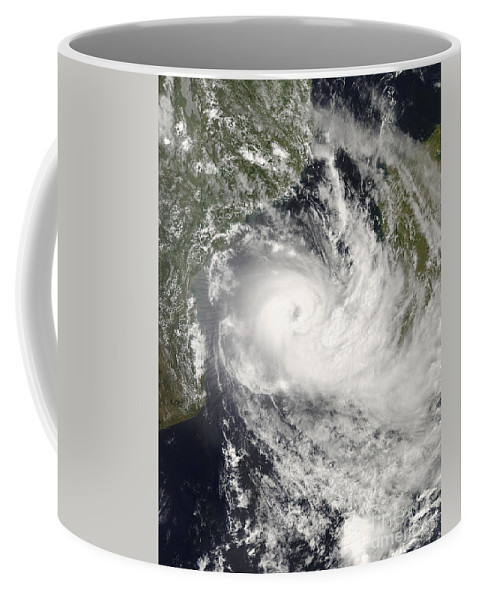 Approaching Coffee Mug featuring the photograph Tropical Cyclone Jokwe by Stocktrek Images