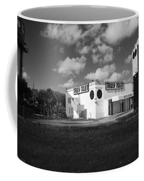 Rat Coffee Mug featuring the photograph Truly Nolen by Rob Hans