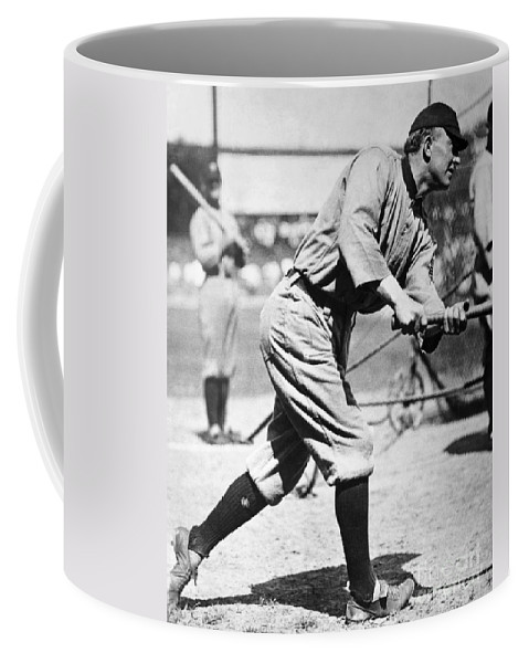 20th Century Coffee Mug featuring the photograph Ty Cobb (1886-1961) by Granger