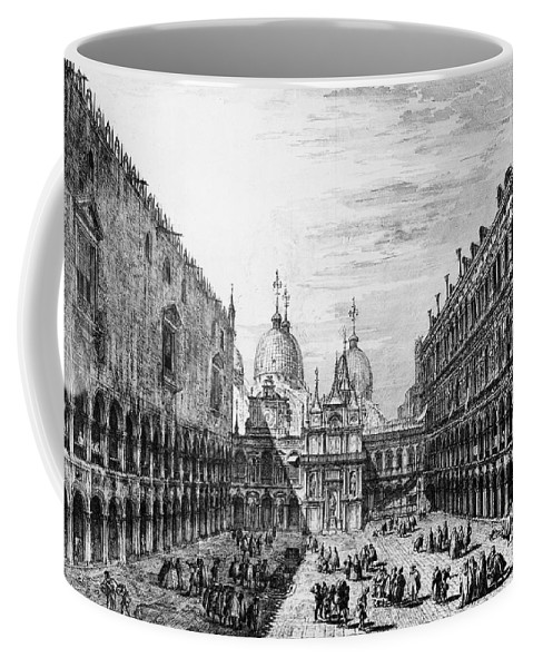 18th Century Coffee Mug featuring the photograph Venice: Saint Marks by Granger