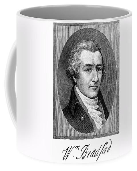 18th Century Coffee Mug featuring the photograph William Bradford by Granger