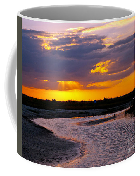 Sunset Coffee Mug featuring the photograph Luminous Lavenders by Stephen Whalen