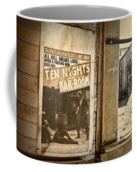 Southwest Coffee Mug featuring the photograph 10 Nights In A Bar Room by Scott Norris