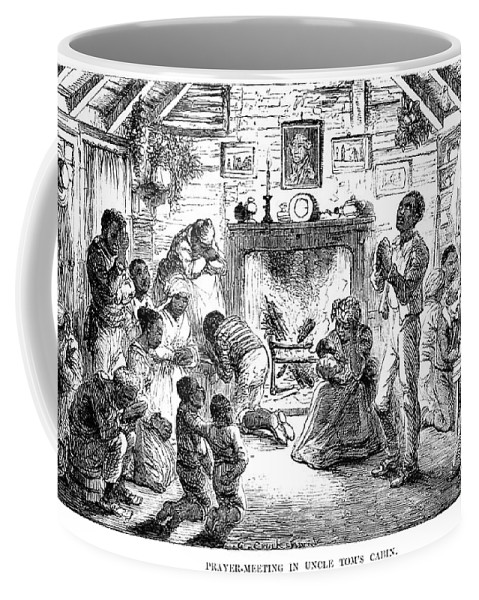 1852 Coffee Mug featuring the photograph Uncle Toms Cabin by Granger
