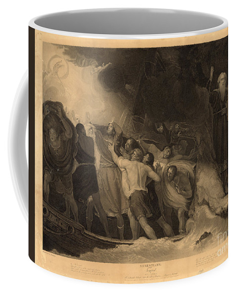 1797 Coffee Mug featuring the photograph Shakespeare: Tempest by Granger