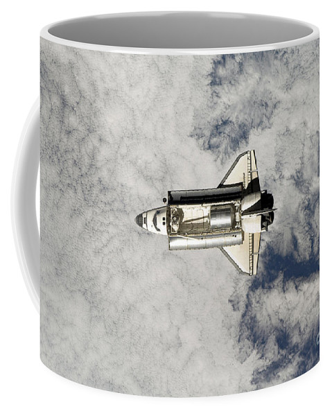 Engine Coffee Mug featuring the photograph Space Shuttle Endeavour by Stocktrek Images