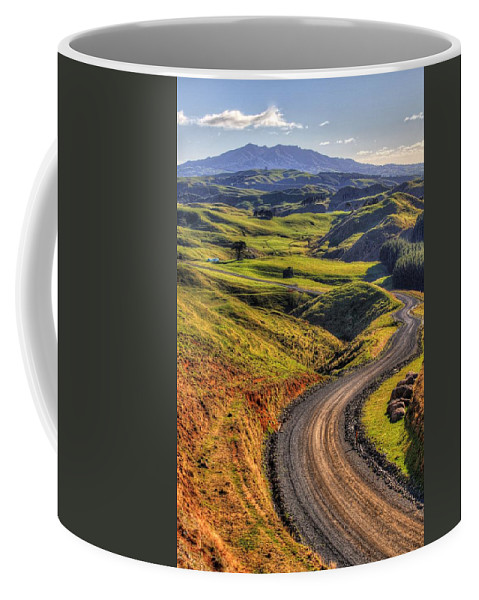 Countryside Coffee Mug featuring the photograph Landscape by Les Cunliffe