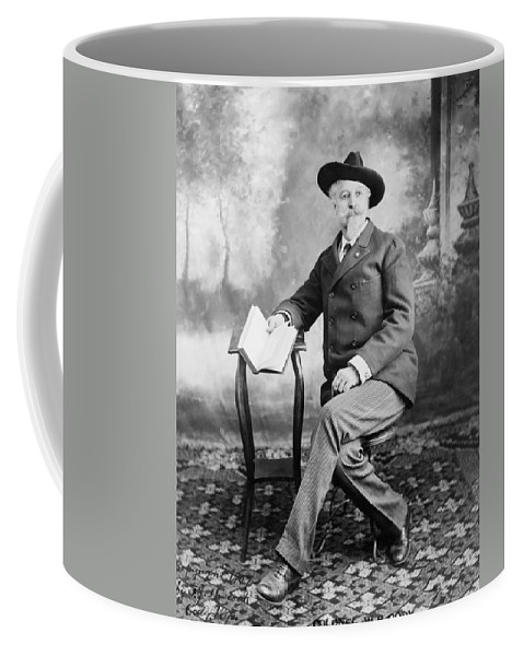1907 Coffee Mug featuring the photograph William F. Cody (1846-1917) by Granger