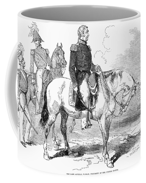 1846 Coffee Mug featuring the photograph Zachary Taylor (1784-1850) by Granger